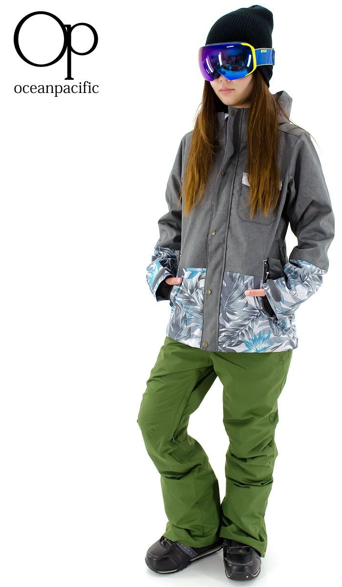 スノボウェア スノーボード パンツ OP 545524 オーピー スノボーウェア ボトム スリム 細身 シンプル 無地