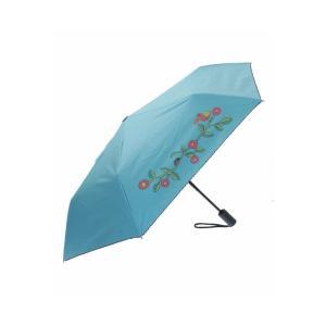 Jocomomola / 【晴雨兼用】鳥とテントウムシ 折りたたみ傘|ストライプデパートメントPayPayモール店