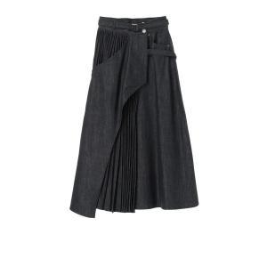 EZUMi / デニムプリーツスカート|ストライプデパートメントPayPayモール店