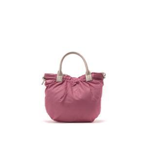 b4BRONTIBAYPARIS / ナイロンA4トートバッグ 「テオドラ」 (ピンク*ゴールド)|ストライプデパートメントPayPayモール店