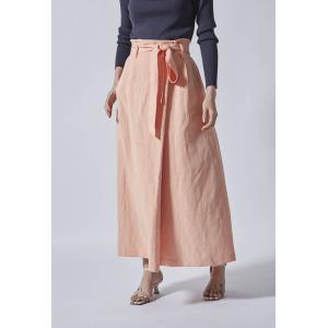 LAUTREAMONT / 《大草直子さんコラボ【OWN】4th Collection》ハイウエストラップ風スカート ストライプデパートメントPayPayモール店