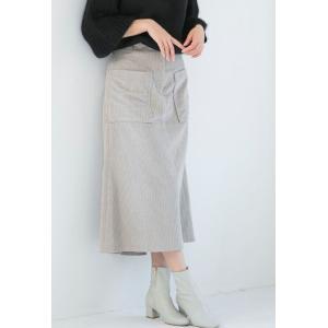 Ketty Cherie / サイドポケットコーデュロイスカート|ストライプデパートメントPayPayモール店