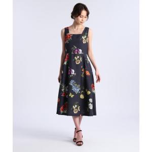 ef-de / 《M Maglie le cassetto》エンブロイダリープリントドレス|ストライプデパートメントPayPayモール店