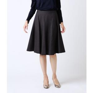NEWYORKER / ウールバスケット 10枚接ぎフレアスカート|ストライプデパートメントPayPayモール店