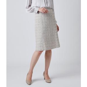 NEWYORKER / ラメツィード 6枚接ぎAラインスカート|ストライプデパートメントPayPayモール店