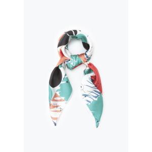 Crossi / ジオメトリックモチーフショール|ストライプデパートメントPayPayモール店