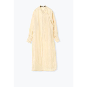 muller of yoshiokubo / ミュラーオブヨシオクボ ロングジャケットワンピース Luster long jacket|ストライプデパートメントPayPayモール店