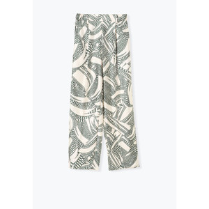 muller of yoshiokubo / ミュラーオブヨシオクボ オリジナルプリントイージーパンツ Engrave line pants|ストライプデパートメントPayPayモール店