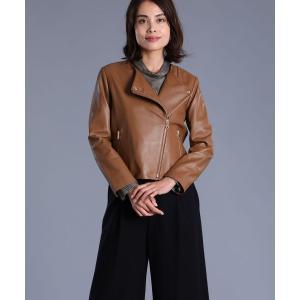 INED L / 《大きいサイズ》ラムレザージャケット|ストライプデパートメントPayPayモール店