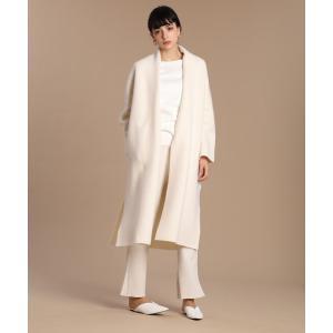 INED L / 《大きいサイズ》ロングニットコート|ストライプデパートメントPayPayモール店