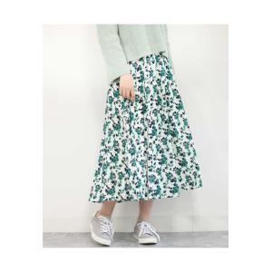 MK MICHEL KLEIN / 【洗える】花柄ロングスカート|ストライプデパートメントPayPayモール店