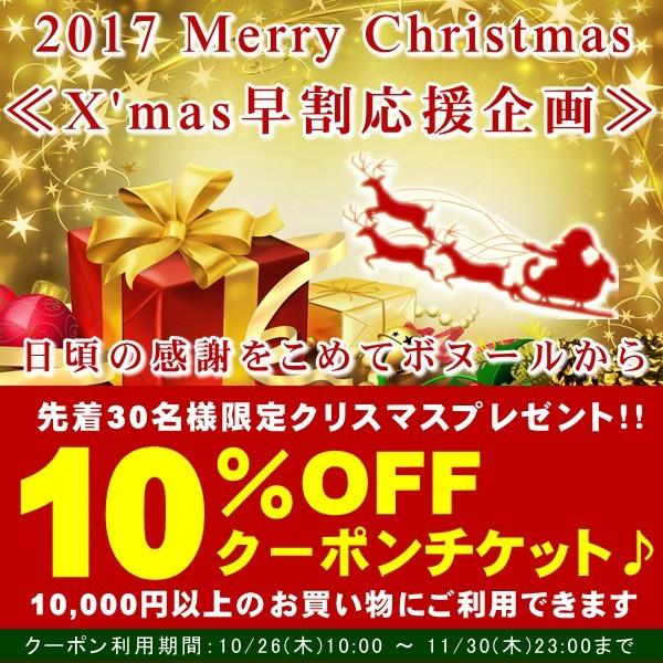 【早割り特典】 X mas応援企画 10%OFFクーポンプレゼント♪