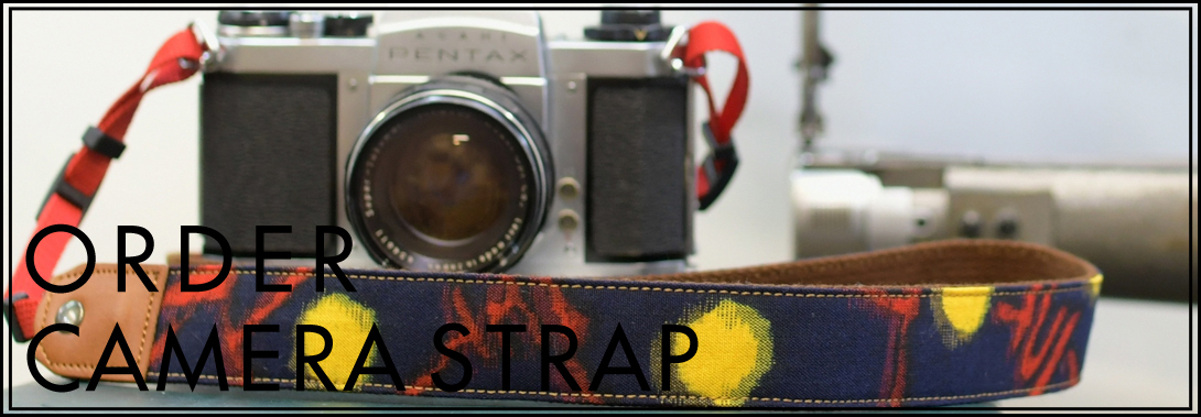 神戸のギフト・プレゼントに工房壱のカメラストラップ