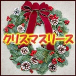 クリスマスリース 花の贈り物 フラワーギフト