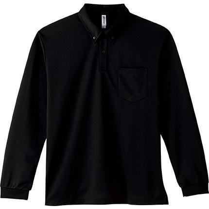 ポロシャツ ドライ 長袖 ボタンダウン レディース (ユニセックス) メンズ ポケット 白 黒 ネイビー 無地 介護 ゴルフ 仕事 制服 styleequal 22