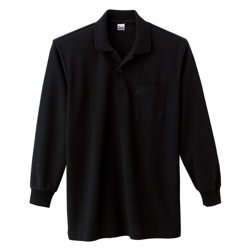 ポロシャツ レディース (ユニセックス) 長袖 かわいい 大きいサイズ おしゃれ スポーツ ゴルフ ポケット 黒 白 無地 ユニフォーム|styleequal|23