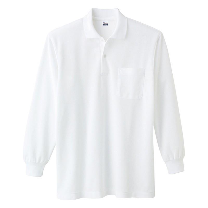 ポロシャツ レディース (ユニセックス) 長袖 かわいい 大きいサイズ おしゃれ スポーツ ゴルフ ポケット 黒 白 無地 ユニフォーム|styleequal|21