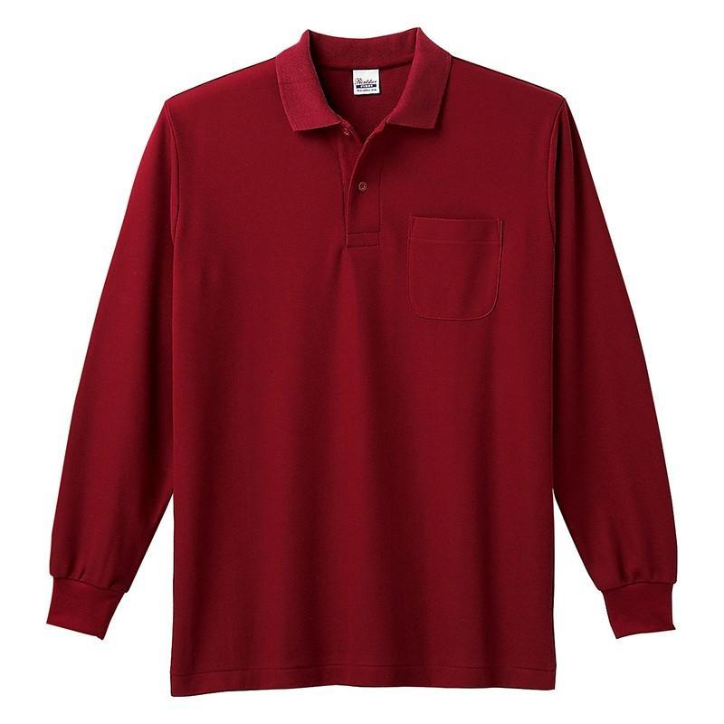ポロシャツ レディース (ユニセックス) 長袖 かわいい 大きいサイズ おしゃれ スポーツ ゴルフ ポケット 黒 白 無地 ユニフォーム|styleequal|34