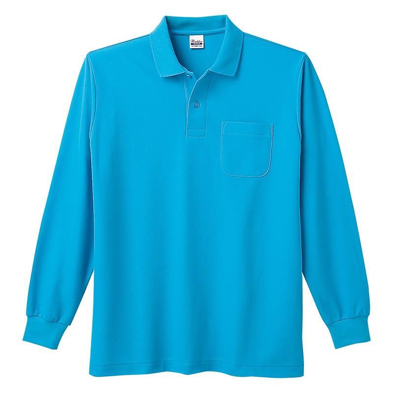 ポロシャツ レディース (ユニセックス) 長袖 かわいい 大きいサイズ おしゃれ スポーツ ゴルフ ポケット 黒 白 無地 ユニフォーム|styleequal|33