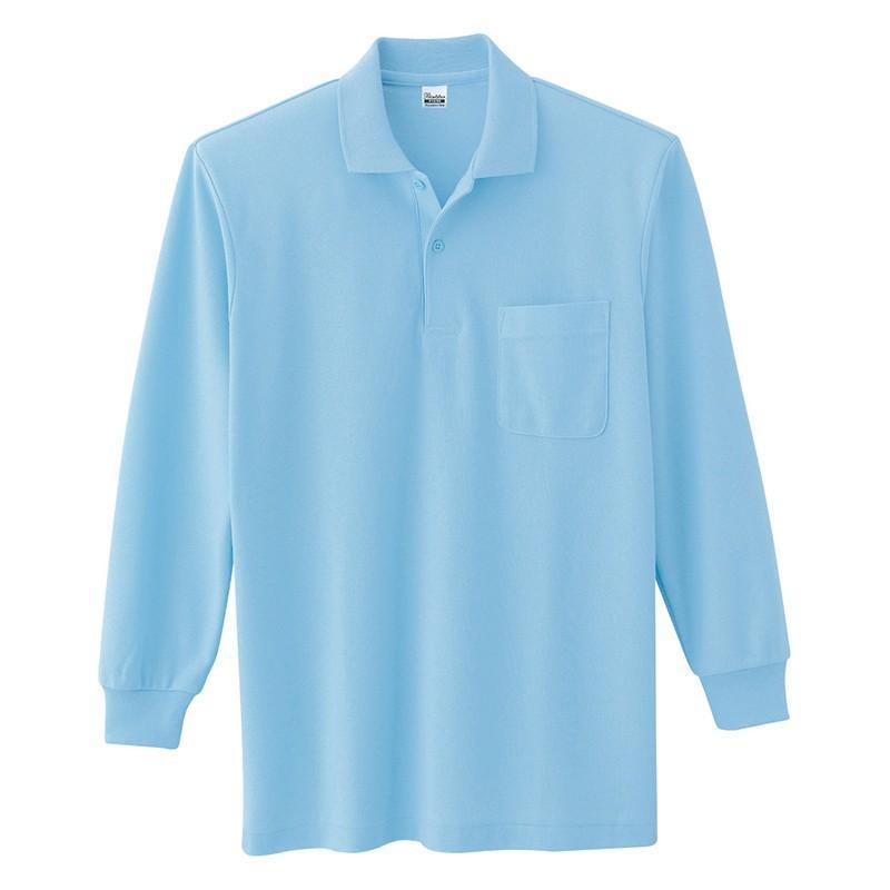 ポロシャツ レディース (ユニセックス) 長袖 かわいい 大きいサイズ おしゃれ スポーツ ゴルフ ポケット 黒 白 無地 ユニフォーム|styleequal|32