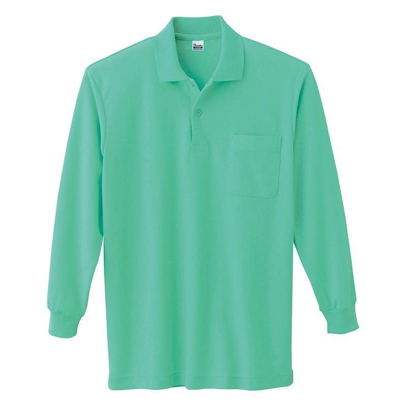 ポロシャツ レディース (ユニセックス) 長袖 かわいい 大きいサイズ おしゃれ スポーツ ゴルフ ポケット 黒 白 無地 ユニフォーム|styleequal|29