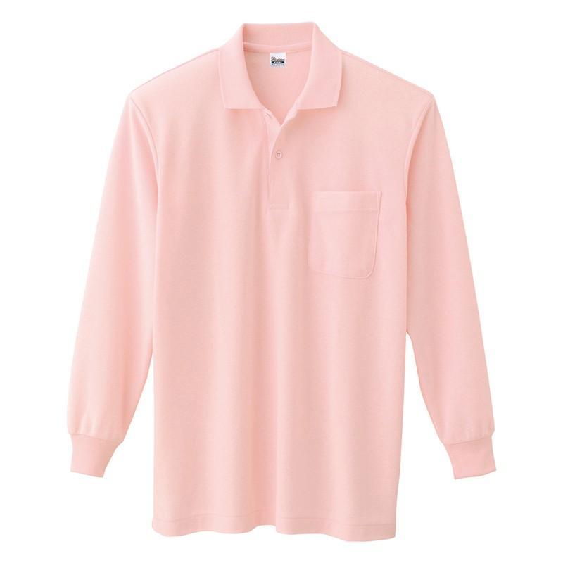 ポロシャツ レディース (ユニセックス) 長袖 かわいい 大きいサイズ おしゃれ スポーツ ゴルフ ポケット 黒 白 無地 ユニフォーム|styleequal|25