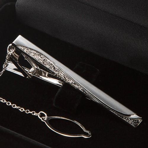 ネクタイピン 純銀 silver925 おしゃれ ギフト プレゼントにオススメ 名入れ別売り シルバー素材 高級 結婚式 メンズ パーティ|styleequal|25