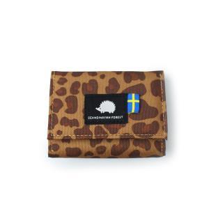 SCANDINAVIAN FOREST スカンジナビアン フォレスト コーデュラナイロン 三つ折り財布 ミニ財布 メンズ レディース 撥水 moz モズ 姉妹ブランド|スタイルオンバッグ
