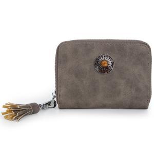 スキミング防止 コインケース レディース ミニ 財布 小型財布 ラウンドファスナー ウエスタン コンチョ ボタン 小銭入れ ミニ 財布 大容量 軽量 ギフト 送料無料|スタイルオンバッグ