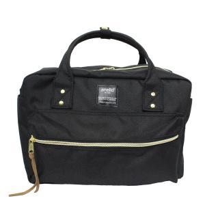 anello ショルダーバッグ レディース ポリキャンバス ボストンバッグ レギュラーサイズ エディターズバッグ 斜め掛けバッグ トートバッグ 2WAY 軽量 送料無料|スタイルオンバッグ