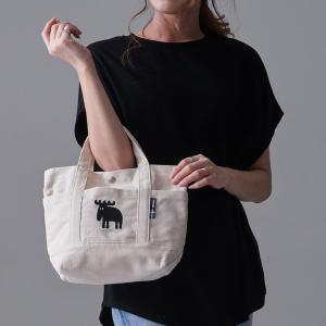 moz MOZ モズ ポケット トートバッグ ミニ バッグ レディース メンズ A5 ミニバッグ ナチュラル 刺繍 小さい 小さめ かばん キャンバス 軽量|スタイルオンバッグ