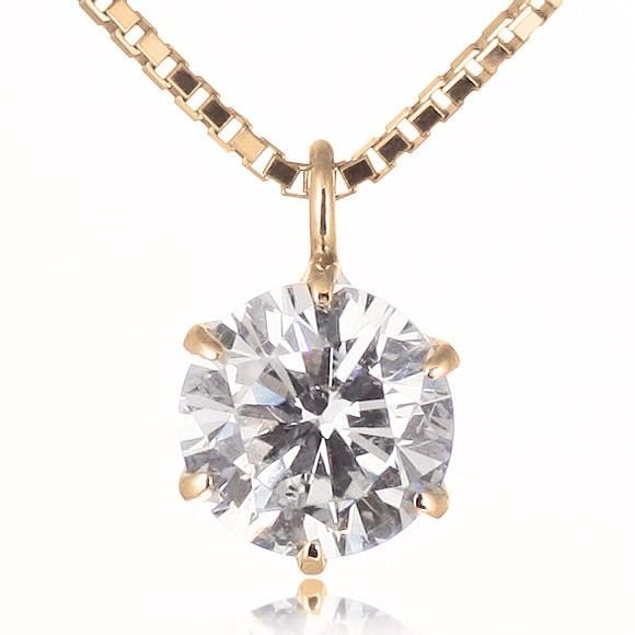 ダイヤモンド ネックレス 1カラット プラチナ 一粒【今だけ代引手数料無料】|suehiro|14