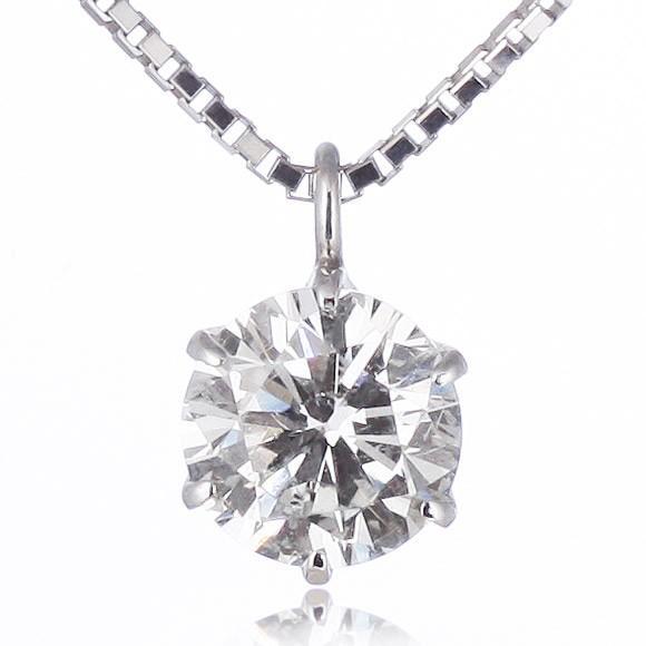 ダイヤモンド ネックレス 1カラット プラチナ 一粒【今だけ代引手数料無料】|suehiro|12