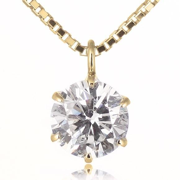 ダイヤモンド ネックレス 1カラット プラチナ 一粒【今だけ代引手数料無料】|suehiro|13