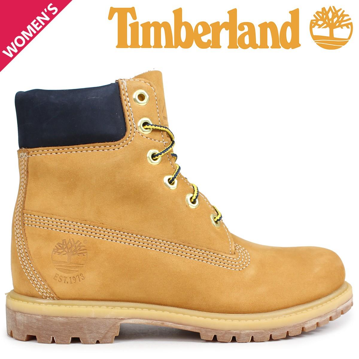Timberland ブーツ レディース 6インチ ティンバーランド 6-INCH PREMIUM BOOTS A1SI1 Wワイズ ウィート [9/5 新入荷]