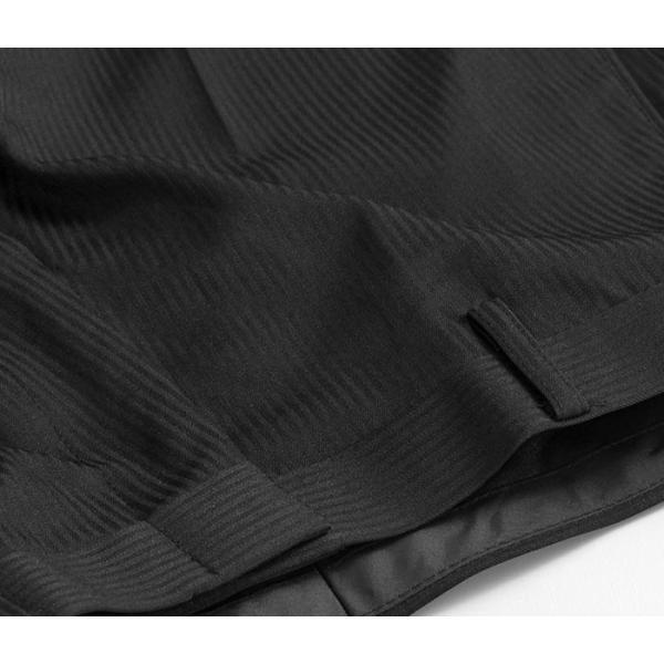 スラックス ウォッシャブル ノータック テーパードスリムスラックス ローライズ メンズ スタイリッシュ ポリエステル|suit-style|15