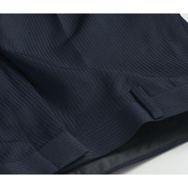 スラックス ウォッシャブル ノータック テーパードスリムスラックス ローライズ メンズ スタイリッシュ ポリエステル|suit-style|16