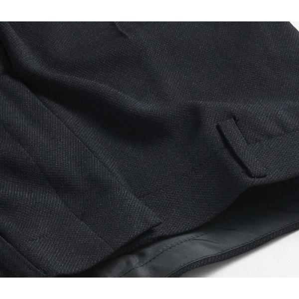 スラックス ウォッシャブル ノータック テーパードスリムスラックス ローライズ メンズ スタイリッシュ ポリエステル|suit-style|17