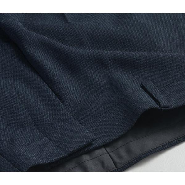 スラックス ウォッシャブル ノータック テーパードスリムスラックス ローライズ メンズ スタイリッシュ ポリエステル|suit-style|18
