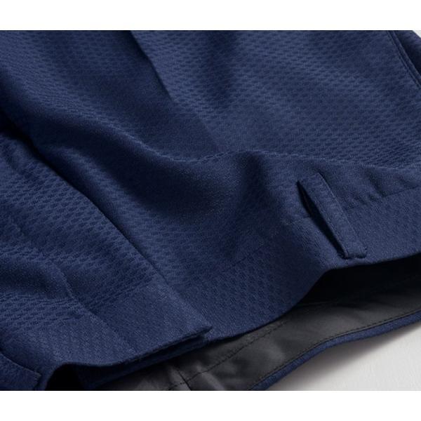スラックス ウォッシャブル ノータック テーパードスリムスラックス ローライズ メンズ スタイリッシュ ポリエステル|suit-style|21