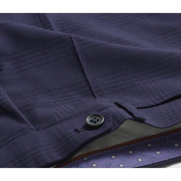 スラックス スリム メンズ COOLMAX クールマックス ノータック ローライズ ウォッシャブル クールビズ 春夏 夏|suit-style|30