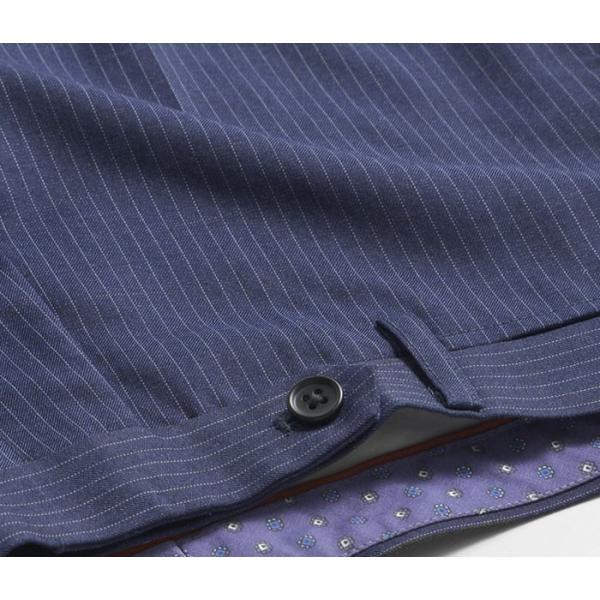 スラックス スリム メンズ COOLMAX クールマックス ノータック ローライズ ウォッシャブル クールビズ 春夏 夏|suit-style|32
