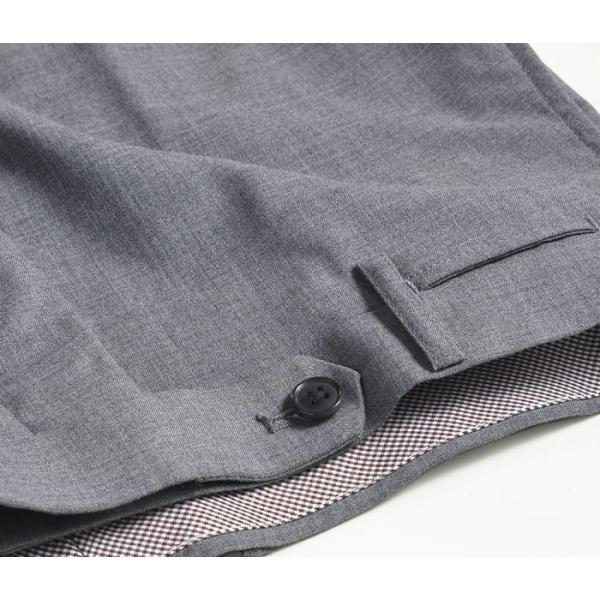 スラックス スリム メンズ COOLMAX クールマックス ノータック ローライズ ウォッシャブル クールビズ 春夏 夏|suit-style|24