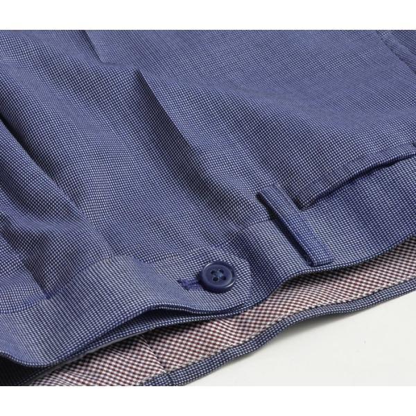 スラックス スリム メンズ COOLMAX クールマックス ノータック ローライズ ウォッシャブル クールビズ 春夏 夏|suit-style|23
