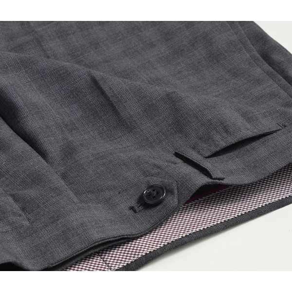 スラックス スリム メンズ COOLMAX クールマックス ノータック ローライズ ウォッシャブル クールビズ 春夏 夏|suit-style|28