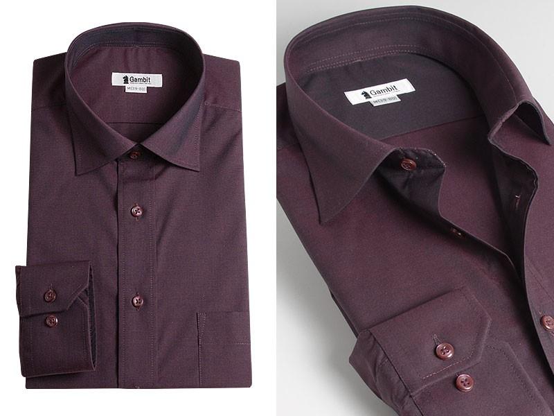 長袖 形態安定加工ドレスシャツ