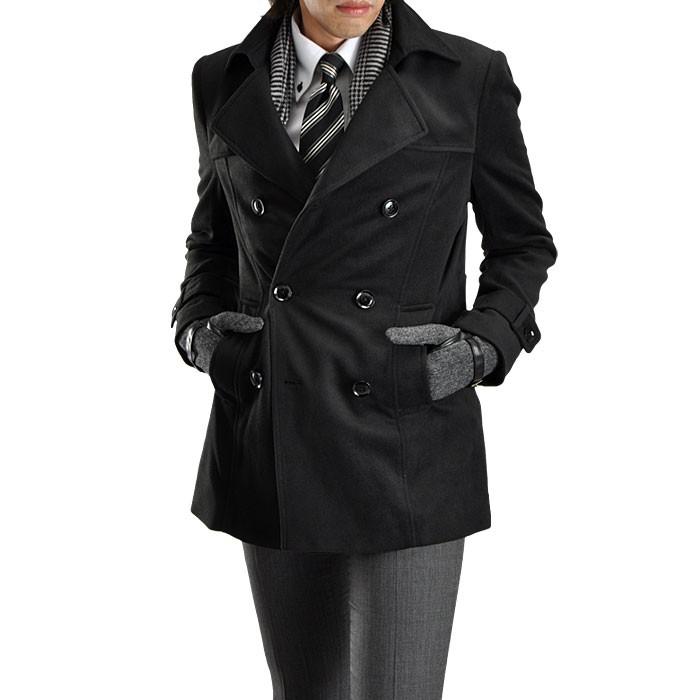 仕事にも遊びにも使える!軽くて柔らかなPコートの着こなし方!