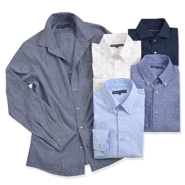 <2>カジュアルシャツ