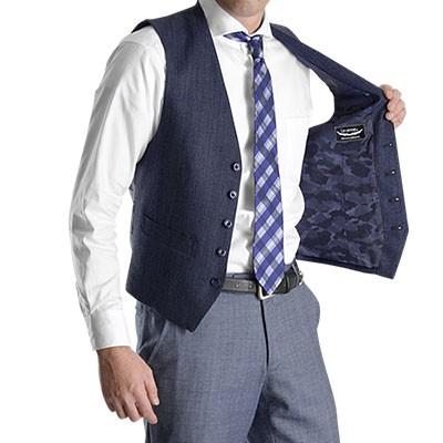 今季注目の【カモフラ柄】投入でスーツ姿をカッコよくアップデート♪