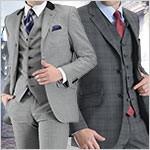 気分は英国紳士!ブリティッシュテイストのスーツ&コート